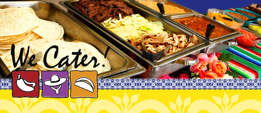 We Cater!